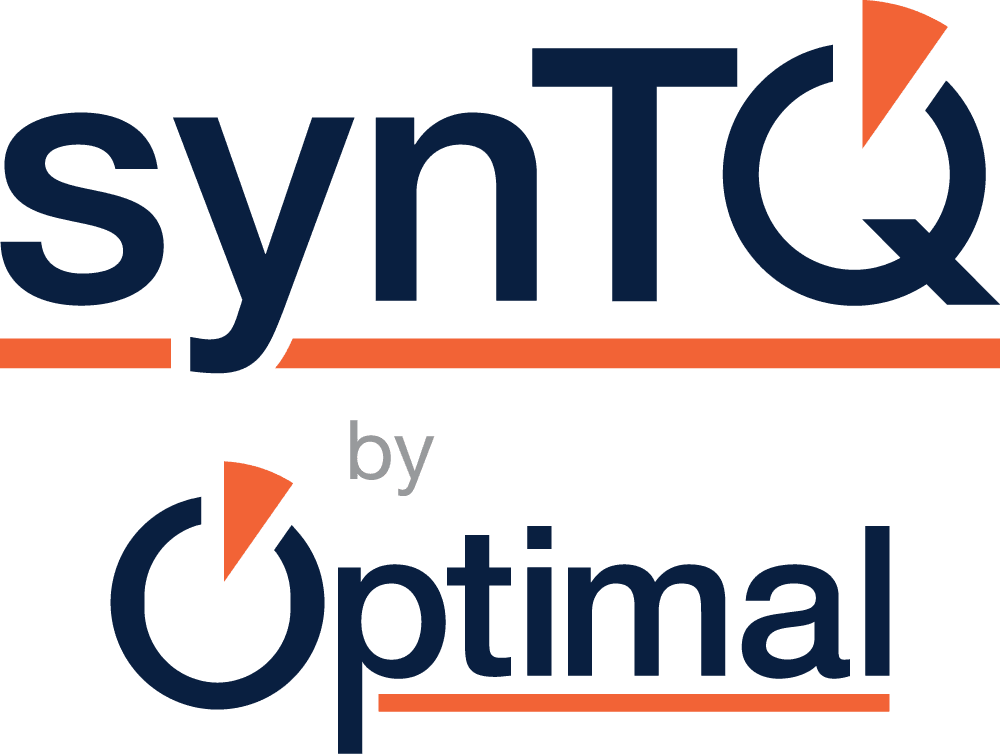 synTQ by Optimal - Stacked - synTQ oversized - Pantone